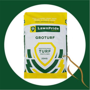 Lawn pride Growturf Professional Turf Fertiliser 20kg
